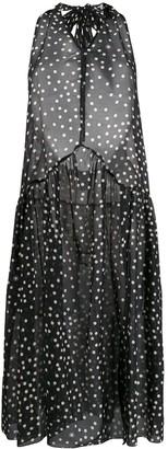 Stella McCartney Polka-Dot Halterneck Dress