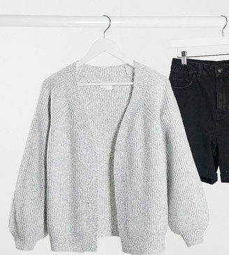 ASOS DESIGN Petite edge to edge boxy cardigan