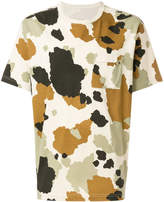 MHI camouflage-print T-shirt