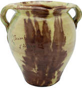 One Kings Lane Vintage French Glazed Terra Cotta Pouring Crock