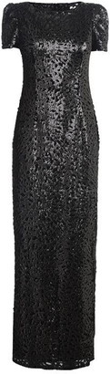 Adrianna Papell Long Sequin Dress