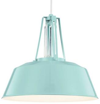 Feiss Redmond 1-Light Pendant - Blue