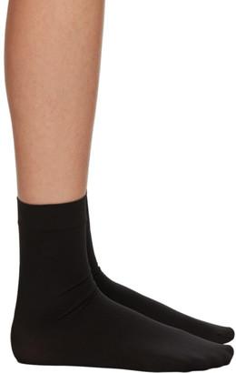 Wolford Black Aurora 70 Socks