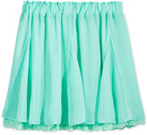 Tommy Hilfiger Lace-Trim Chiffon Skirt, Big Girls (7-16)