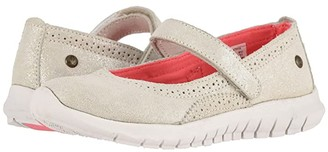 Hush Puppies Kids Flote Tricia Mary Jane (Little Kid/Big Kid) (Champagne) Girls Shoes