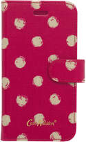 Cath Kidston Mini Smudge Spot iPhone 7 Case With Card Holder