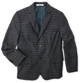 Isaac Mizrahi Boys 8-20) Plaid Wool Blazer
