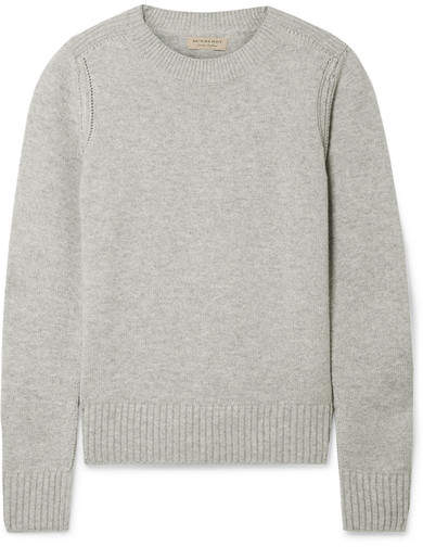 Burberry Cashmere Sweater - Gray