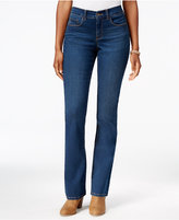 Style&Co. Style & Co. Petite Tummy-Control Marine Wash Bootcut Jeans, Only at Macy's