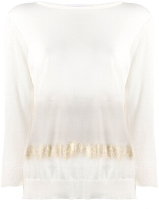 Fabiana Filippi Ombre-Effect Relaxed-Fit Jumper
