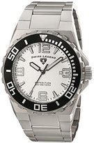 Swiss Legend Men's 10008-22S Expedition Analog Display Swiss Quartz Silver Watch