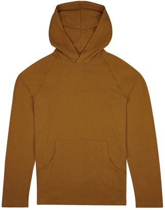 Fraser Birt Long-Sleeve Hooded T-Shirt Brown