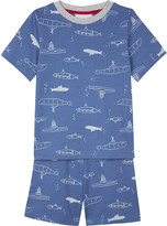 The Little White Company Undersea adventure print cotton pyjamas 1-6 years