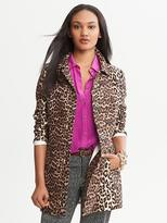 Banana Republic Animal Print Coat