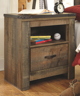 Signature Design by Ashley Brown Trinell One-Drawer Nightstand