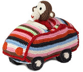 Anne Claire Crochet Animal Car
