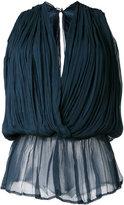 Mes Demoiselles wrap blouse - women - Viscose - 38