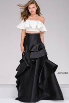 Jovani Two-Piece Off the Shoulder Prom Gown 47689