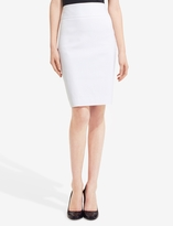 The Limited Exact Stretch Wide Waistband Pencil Skirt