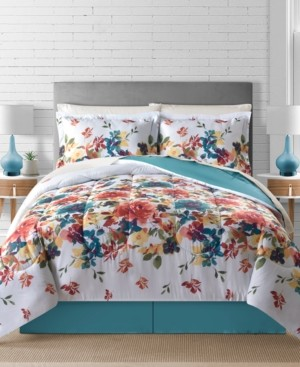 Fairfield Square Collection Sophia Reversible 8-Pc. Comforter Sets Bedding