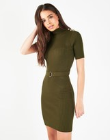 Lipsy Military Button Dress