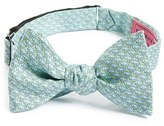 Vineyard Vines Men's Whale Print Silk Bow Tie