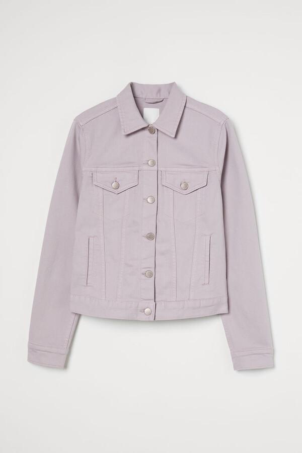 Thumbnail for your product : H&M Denim Jacket - Purple