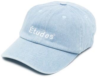Études Embroidered-Logo Cotton Baseball Cap