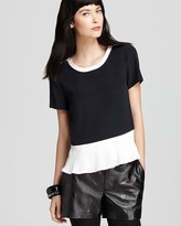 Marc by Marc Jacobs Top - Avery Color Blocked Peplum