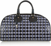 Proenza Schouler Kiri woven leather and patent tote