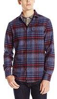 Original Penguin Men's Twisted Yarn Flannel Shirt