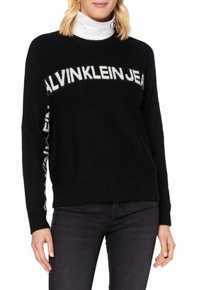 Calvin Klein Jeans Women's Logo Banana Sweater