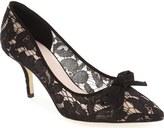 Kate Spade 'jace' velvet bow lace pump (Women)