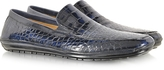 Pakerson Island Blue Alligator Loafer