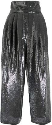 Marc Jacobs high waisted sequin trousers