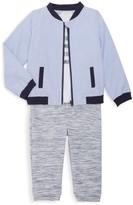 Miniclasix Baby Boy's 3-Piece Jacket, Top & Pants Set