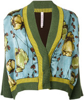 Antonio Marras printed fitted jacket