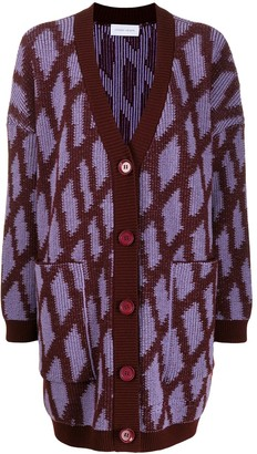 Christian Wijnants Triangular Patterned Cardigan