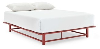 DHI Parsons Metal Ledge Platform Bed, Full Size and Multiple Colors