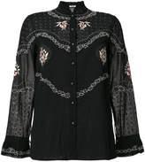 Vilshenko patterned blouse