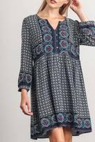 Umgee USA Printed Dress