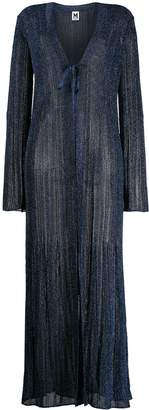 M Missoni long length knitted cardigan
