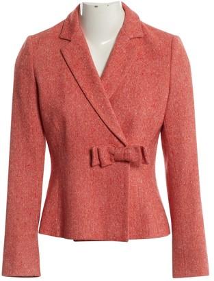 Moschino Pink Wool Jackets