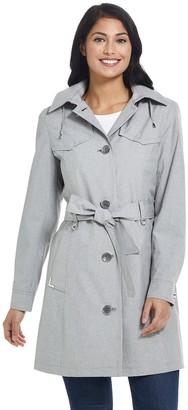Gallery Women's Hooded Rain Coat