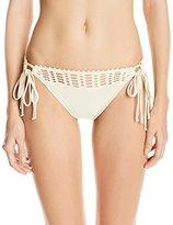 Robin Piccone Women's Sophia Crochet Bikini Bottom