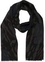 Yigal Azrouel Wool Printed Scarf