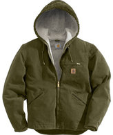 Carhartt Men's Sandstone Sierra Sherpa-Lined Jacket J141