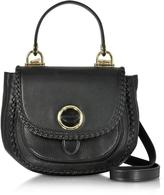 Michael Kors Isadore Medium Top Handle Black Pebble Leather Messenger Bag