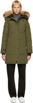 Canada Goose Green Down Shelburn Jacket