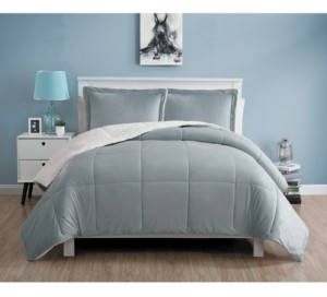 VCNY Home Micromink Sherpa Comforter Set, Twin Bedding